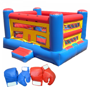 Inflatable Bouncy Boxing Interactive Bounce House Rental Michigan removebg preview