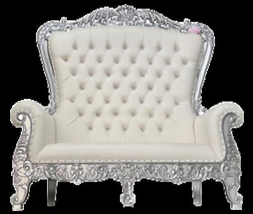 Silver White Double Throne RR